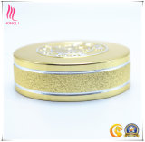 Chapéu de parafuso de garrafa de metal de prata de ouro personalizado para frascos de vidro
