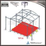 Ферменная конструкция крыши этапа согласия сдобренная алюминием для освещения