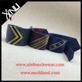 100% Mens artesanais Skinny roupa de Tecidos Jacquard Personalizado gravata