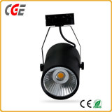Color 까만 크리 말 Chip 30W Ra>90 COB LED Track Light LED Spot Light PAR28 PAR30 Track Lamp Indoor Lamps