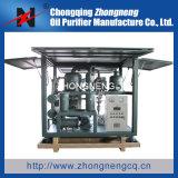 Máquina de filtración Zyd del sistema del vacío del petróleo del petróleo de dos etapas de la filtración