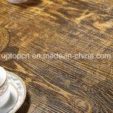 El restaurante de estilo vintage con muebles de madera tapizados sillón (SP-CT797)