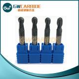 Fraises en bout plates du carbure HRC45-65 pour les outils de fraisage