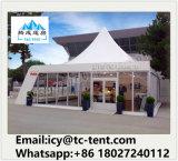 Подгонянный складывая Coated шатер Pagoda свадебного банкета с французским окном для сбывания