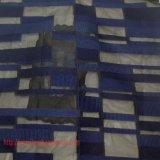Tejido de poliéster Tejido jacquard Teñido de hilo Tejido Tejido químico Jacquard geométrico para la camisa de vestir Vestido completo Textil para el hogar