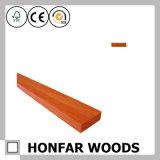 """2 balustrade à extrémité élevé de chêne rouge en bois solide de """" X 1-1/2 """""""