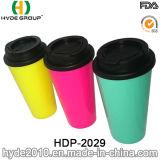 Double tasse de café de course de mur de ventes chaudes respectueuses de l'environnement (HDP-2029)