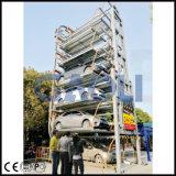 標準縦の回転式自動化されたスマートなタワー車の駐車システム