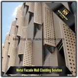معماريّة [بفورتد] ألومنيوم صفح [كرتين ولّ] بناية لوح لأنّ زخرفة