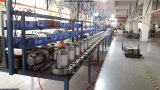 Elektrischer Wechselstrom-Kompressor-gebogenes zentrifugales Vorwärtsgebläse
