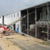 Almacén prefabricado de la estructura de acero del bajo costo del surtidor profesional