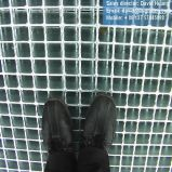 Galvanizado en caliente la barra redonda del enrejado de piso Pasarela