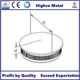 Balustrade en verre d'acier inoxydable de balustrade de pêche à la traîne de monture de balustrade