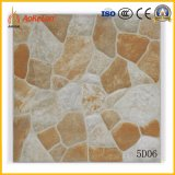 azulejo de suelo rústico de Matt del diseño de piedra de 400X400m m para el área de Gardon