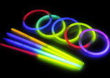 Bi-Colori dei braccialetti di incandescenza della decorazione di festa (SZT5200-2)