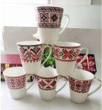 安い習慣14ozの陶磁器の習慣によって印刷されるコーヒー・マグ