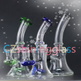 Tubulação de água de vidro da tubulação de vidro pequena popular para fumar Czs-S05