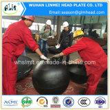 Protezioni cape emisferiche per le parti inferiori ellittiche dei tubi o dei tubi