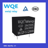 Wl32f Miniatur-Größe 5A Leistungsrelais für Haushaltsgeräte und Industrieanwendungen