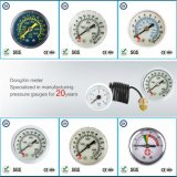 004 40mm医学の圧力計の製造者圧力ガスか液体
