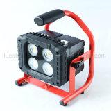 Lampada di trasporto facile dell'indicatore luminoso 40W del lavoro della costruzione LED del treppiedi forte