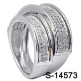 Commercio all'ingrosso d'argento della fabbrica dell'anello delle coppie dei monili 925 di modo