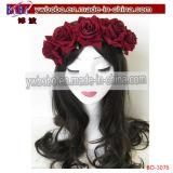 Di Cosplay della parrucca prodotti per i capelli sintetici della treccia bionda diritta lungamente (BO-3075)