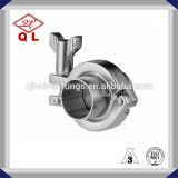 Abrazadera sanitaria del acero inoxidable de Ss304 Ss316