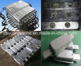 Ánodo de aluminio del ánodo del ánodo marina del cinc con precio competitivo