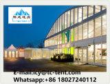 Kubus Van uitstekende kwaliteit Twee van de fabriek Tent van de Structuur van het Dek van de Vloer de Dubbele met VIP Bevloering