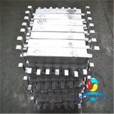Aluminiumanode, die Gerät für Sammelbehälter ausstattet