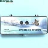 На заводе Denrum стоматологическая ортодонтические моноблочная стандартных Edgewise кронштейны
