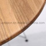 크롬 강철과 나무로 되는 상단 (SP-RT570)를 가진 대중음식점 테이블
