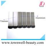 O revestimento cerâmico Titanium chapeia o Straightener do cabelo de Digitas