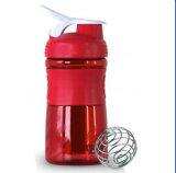 Wasser-Flasche, Plastikprotein-Mischmaschine-Schüttel-Apparatflasche (R-S045)