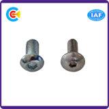 Parafuso de tampão galvanizado M10 do soquete do hexágono da cabeça da bandeja do carbono Steel/4.8/8.8/10.9