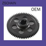 Il trasporto della ruota dentata ed a catena semplice di energia parte la doppia ruota dentata d'acciaio di riga