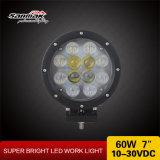 """ヘッドライトの働くライト7 """" 60W自動LEDのオフロードドライビング・ライト"""