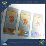 Custom Scratch Off Card com linha de holograma de segurança