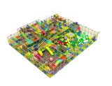Os fabricantes vendem por atacado o projeto novo do campo de jogos interno barato dos miúdos