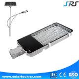 Hohes Straßenlaterne-Licht der Helligkeit Bridgelux Chip-Zahnbürste-Entwurfs-Leistungs-DV 12V Solar-LED