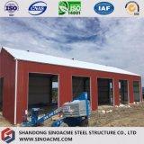 Sinoacme ha prefabbricato la tettoia portale dell'acciaio del blocco per grafici