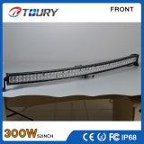 300W LED de luz LED de conducción trabajo 36W super brillante coche de barra 12V 24V