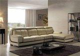 ホームのためのLizzの高品質の現代角の革ソファー