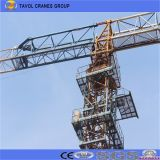 5510 6t 55m Jib Longueur Topless Self Erecting Tower Crane