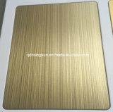 Покрашенные высоким качеством декоративные плиты нержавеющей стали для Анти--Фингерпринта Matt проекта