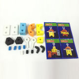 Jouets éducatifs de bricolage 19PCS Foam Toy 4 en 1 bloc EVA 10250558)
