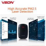 Pm2.5 Detector Data Logger com o lembrete inteligente da APP para monitor de qualidade do ar interior