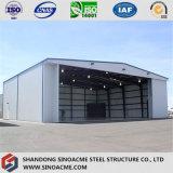 Sinoacme сборные рамы портала стальные конструкции самолета ангара