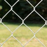 Frontière de sécurité galvanisée de maille de maillon de chaîne de diamant pour le jardin